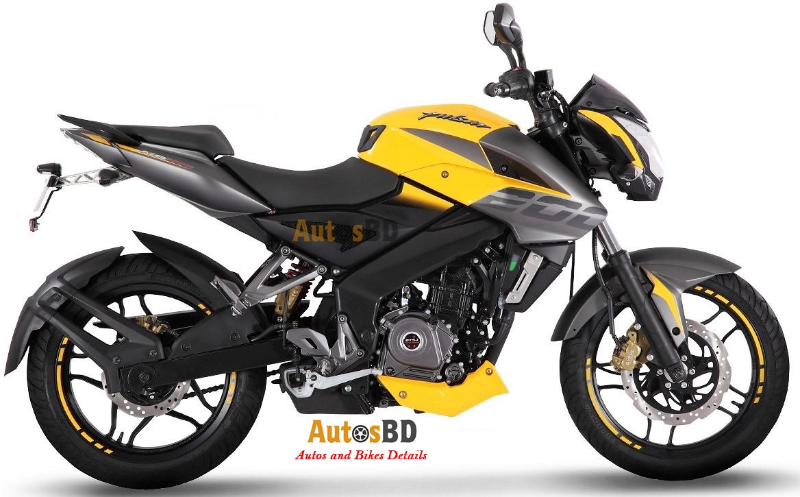 Bajaj Pulsar Ns200 2017 Motorcycle Specification