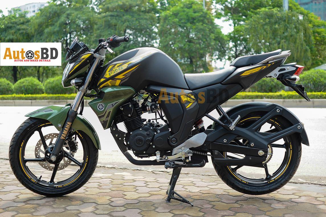 Yamaha FZS Fi Matte Green Motorcycle Specification